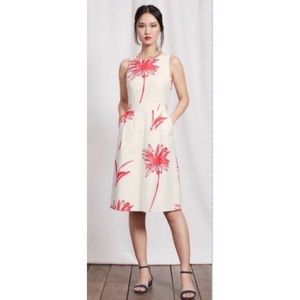 Women's BODEN dress Evelyn floral print Sz 6 US